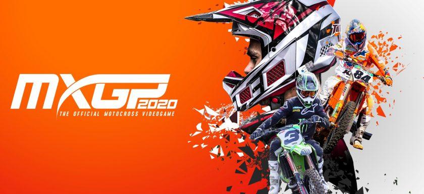 Jeu MXGP 2020 sur PS5 : artwork du jeu