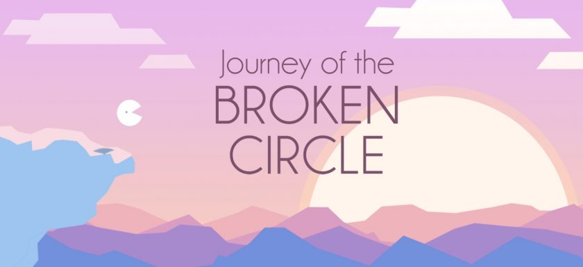 Jeu Journey of the Broken Circle sur PS4 - artwork du jeu