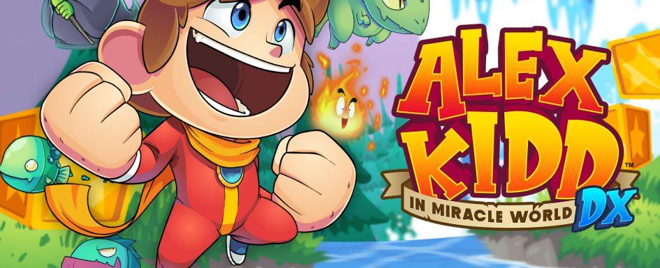 Jeu Alex Kidd in Miracle World DX - artwork du jeu