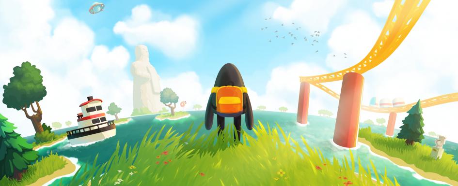 Jeu A Monster's Expedition sur PC - Artwork du jeu