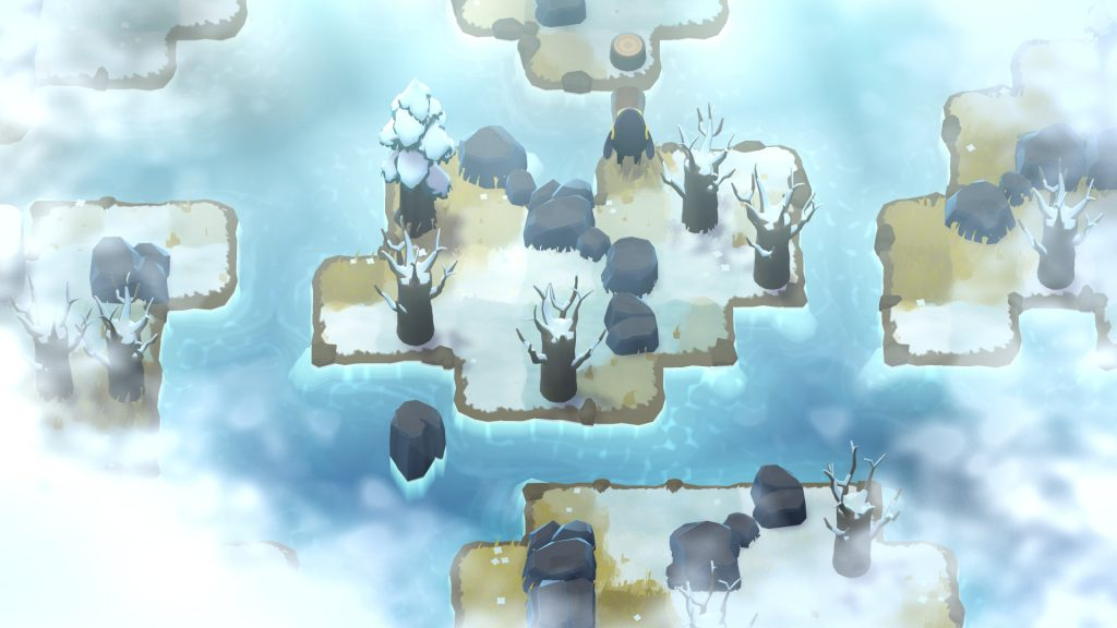 Jeu A Monster's Expedition sur PC - Petit voyage en hiver