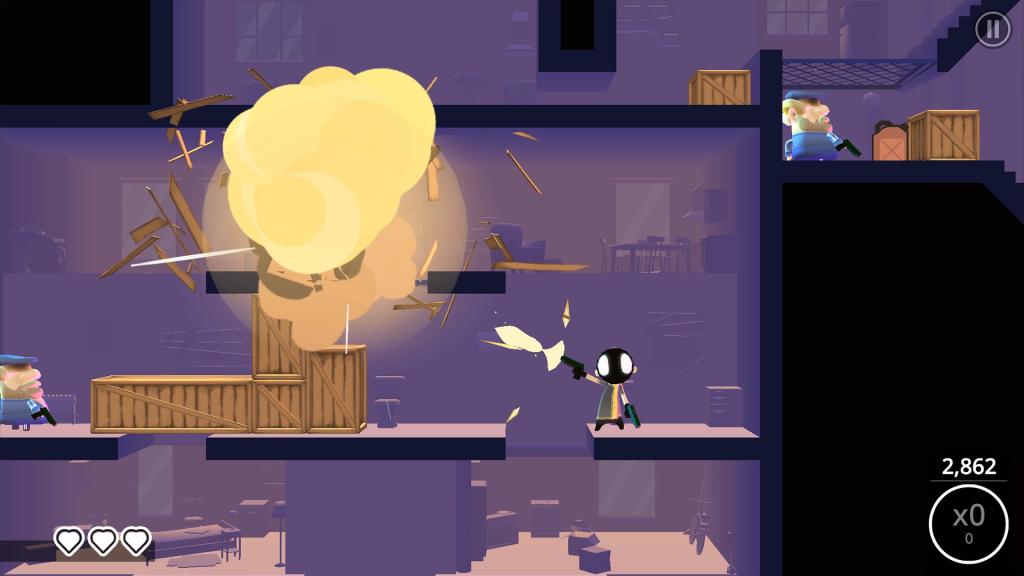 Jeu My Friend Pedro: Ripe for Revenge sur iOS - de l'action explosive