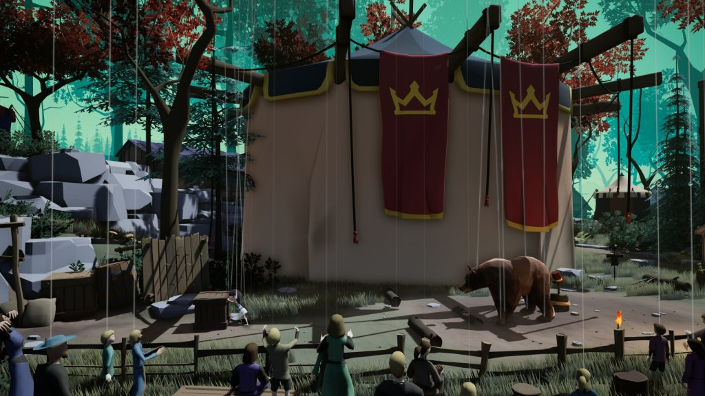 Jeu A Juggler's Tale - Début dans le cirque