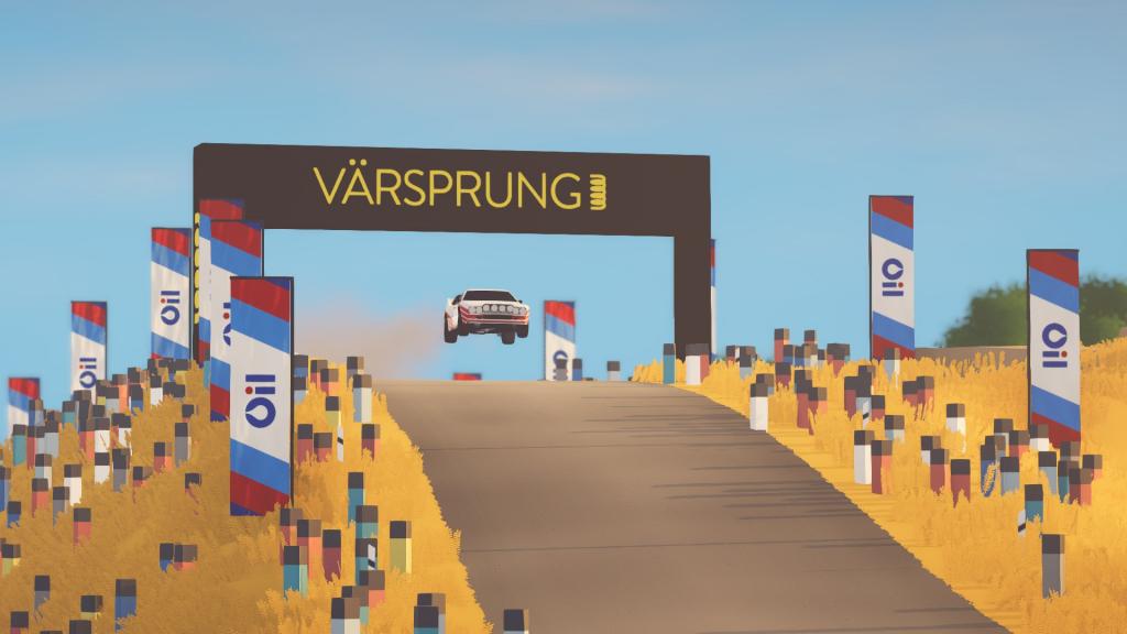 Jeu Art of Rally sur Xbox Series X - Sur les routes en gravier
