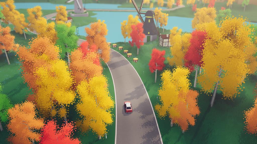 Jeu Art of Rally sur Xbox Series X - Balade tranquille sur les routes